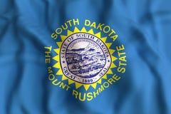 South Dakota State flag Stock Images