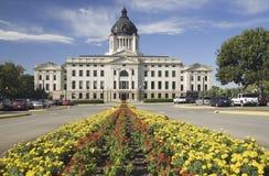 South Dakota statKapitolium royaltyfria foton