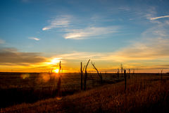 South Dakota Sunrise Royalty Free Stock Photo