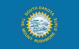 South Dakota USA statflagga arkivfoton