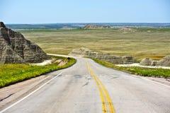 South Dakota väg arkivfoto