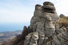 South Demerdzhi. Crimea. Royalty Free Stock Image