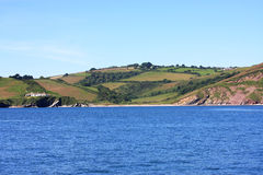 South Devon coast Royalty Free Stock Photos