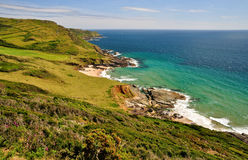 South Devon Coastline Stock Image