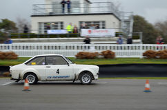 South Down Rally Event at Goodwood. Royalty Free Stock Photos