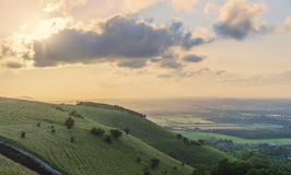 South downs Royalty Free Stock Photo