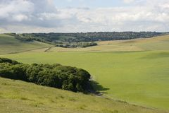 South Downs countryside near Eastbourne. England Stock Photo