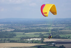 South Downs Parascending Stock Photography