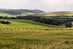 South Downs patchwork Stock Images