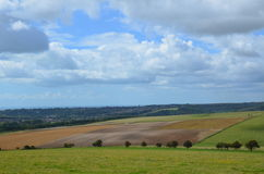 The South Downs. Stock Images