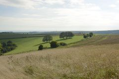 South Downs in Sussex. England Royalty Free Stock Photography