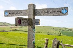 South Downs Way Stock Images