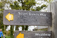 South Downs Way Stock Photo