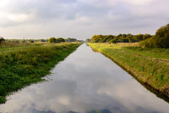 Free South Drain At Shapwick Heath National Nature Reserve Stock Photo - 79513530