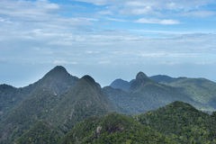 South East Asia Mountain Landscape Stock Photography