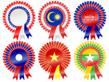 South East Asia Rosettes Stock Image