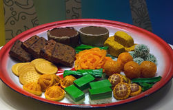 South East Asian Snacks Stock Image
