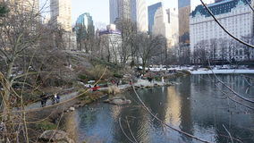 South East Central Park a1. Central Park is an urban park in the central part of the borough of Manhattan, New York City. It was initially opened in 1857, on 778 stock images