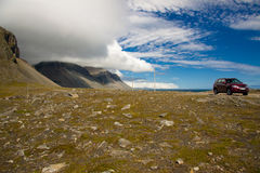 South east part of Iceland - Hvalnes cliffs Stock Photography