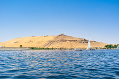 The South of Egypt Royalty Free Stock Photography