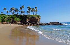 South end of Crescent Bay, Laguna Beach, California Royalty Free Stock Photo