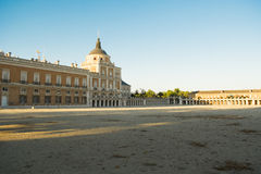 South facade of the Palace of Aranjuez Stock Image