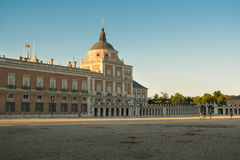 South facade of the Palace of Aranjuez Stock Photos