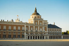 South facade of the Palace of Aranjuez Stock Photography