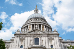 South facade of St Pauls Cathedral Royalty Free Stock Photos