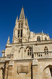 The South Face of Burgos Gothic Cathedral. Spain Stock Photos