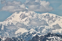 The South Face of Mt. McKinley Royalty Free Stock Photos