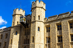 South face of the Waterloo Block. Tower of London Stock Photography