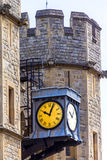 South face of the Waterloo Block. Tower of London Royalty Free Stock Image