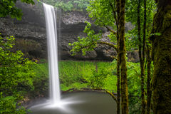 South Falls in Silver Falls State Park stock image