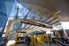 Free South Ferry Subway Entrance Royalty Free Stock Photos - 53744718