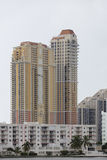 South Florida architecture Royalty Free Stock Photography