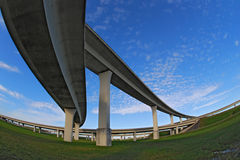 South Florida expressways. Stock Image