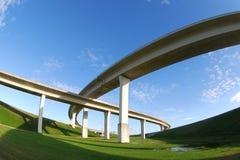 South Florida expressways. Royalty Free Stock Images