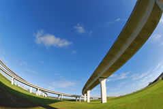 South Florida expressways. Stock Photo