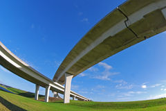 South Florida expressways. Stock Images