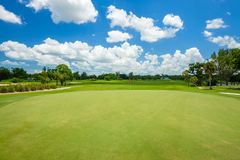 South Florida Golf Course Royalty Free Stock Photos