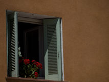South France tipical house window Stock Photo