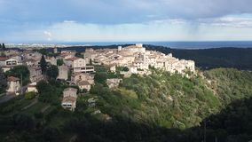 South of france- Tourette sur loup Royalty Free Stock Image