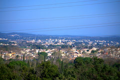 South France view Royalty Free Stock Photo