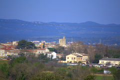 South France village Royalty Free Stock Photos