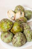 South  fruit cherimoya Stock Photo