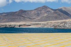South Fuerteventura Landscape Stock Photos