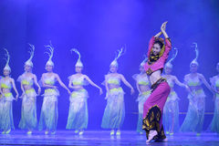 South fujian traditional dance Royalty Free Stock Images