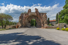 The South gate - The Camels of ancient roman fortifications in Diocletianopolis, town of Hisarya, Bulgaria Stock Photography