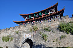 South gate of Dali Ancient city Royalty Free Stock Photography